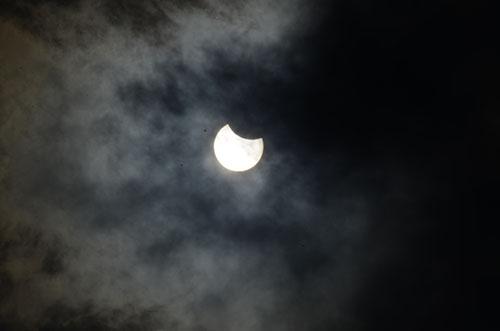 Konya'da Güneş Tutulması 4