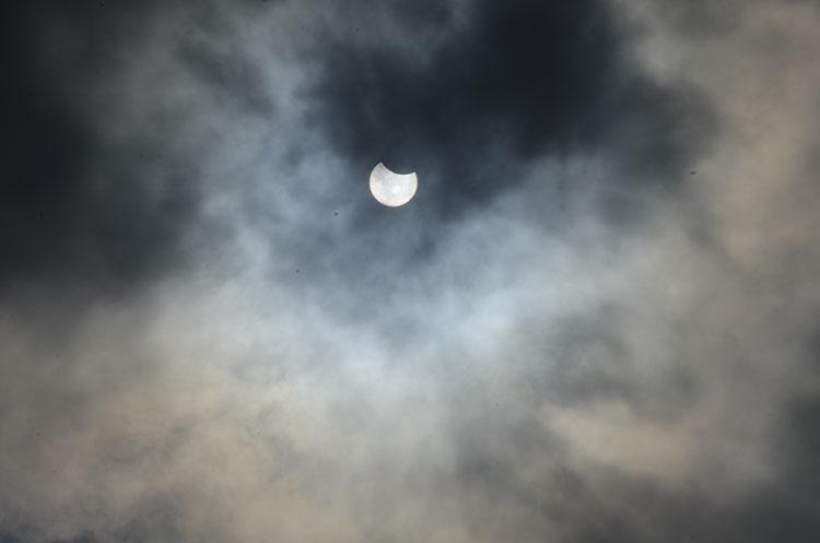 Konya'da Güneş Tutulması 7