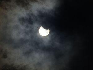 Konya'da Güneş Tutulması