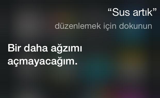 Siri'nin verdiği en komik cevaplar! 6
