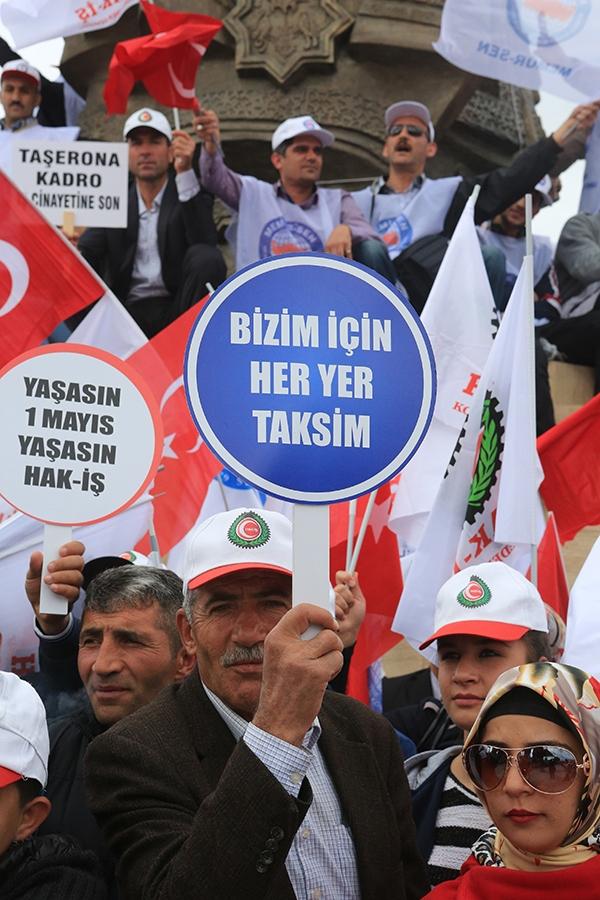 Konya'da 1 Mayıs 2