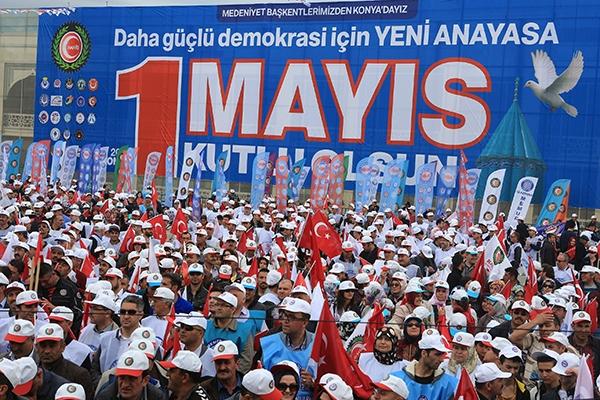 Konya'da 1 Mayıs 5