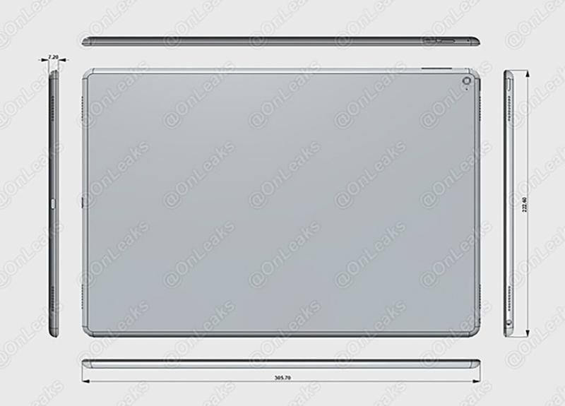 iPad Pro'nun Yakın Görselleri ve Ölçüleri Sızdı! 3