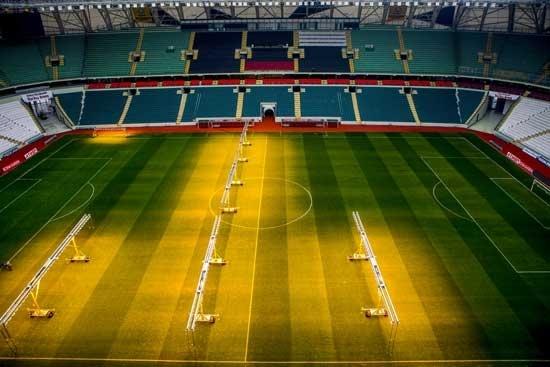 Hollandalılar inanamadı! Torku Arena... 8