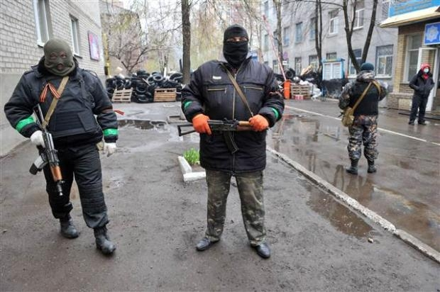 Ukrayna'da terörle mücadele operasyonu başladı 1