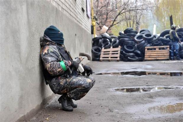 Ukrayna'da terörle mücadele operasyonu başladı 10
