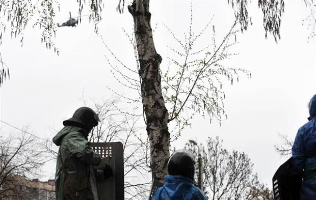 Ukrayna'da terörle mücadele operasyonu başladı 11