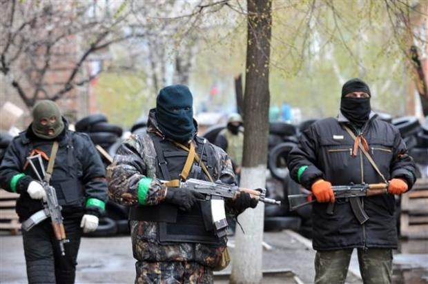 Ukrayna'da terörle mücadele operasyonu başladı 13