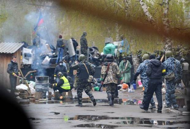 Ukrayna'da terörle mücadele operasyonu başladı 14