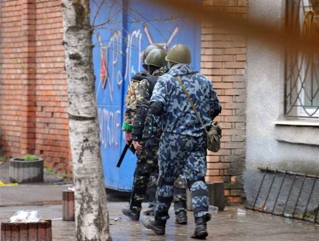 Ukrayna'da terörle mücadele operasyonu başladı 15