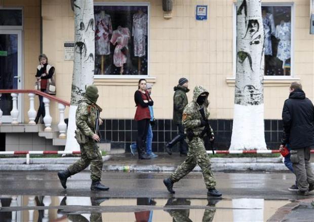 Ukrayna'da terörle mücadele operasyonu başladı 16