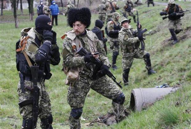 Ukrayna'da terörle mücadele operasyonu başladı 18