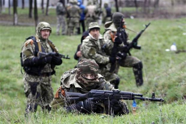 Ukrayna'da terörle mücadele operasyonu başladı 19