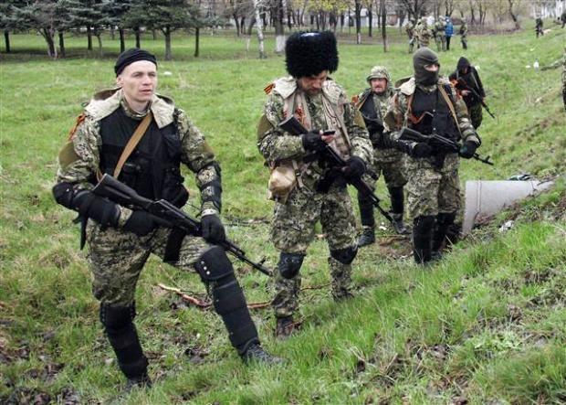 Ukrayna'da terörle mücadele operasyonu başladı 20