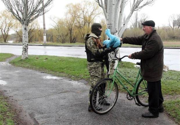 Ukrayna'da terörle mücadele operasyonu başladı 21