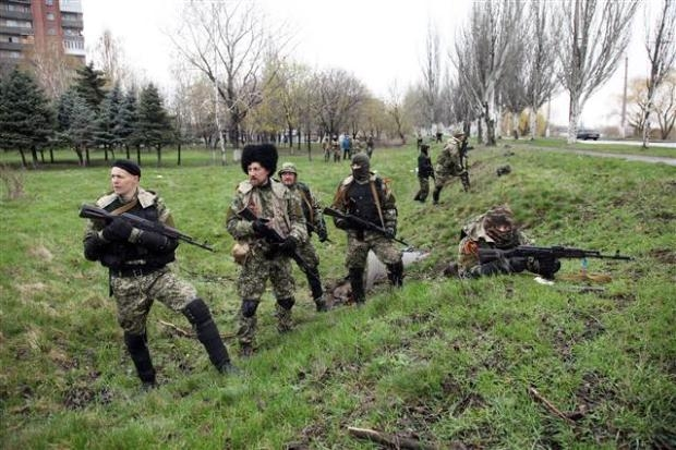 Ukrayna'da terörle mücadele operasyonu başladı 22