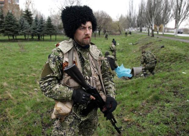 Ukrayna'da terörle mücadele operasyonu başladı 23