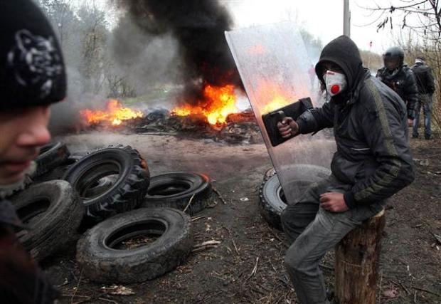 Ukrayna'da terörle mücadele operasyonu başladı 24