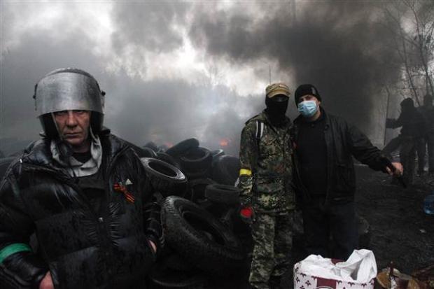 Ukrayna'da terörle mücadele operasyonu başladı 25