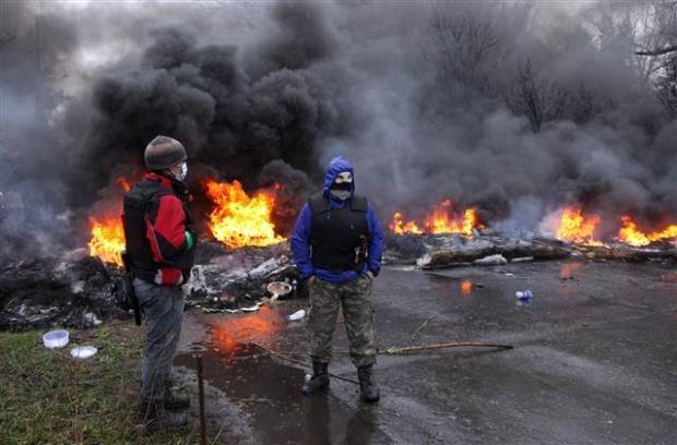 Ukrayna'da terörle mücadele operasyonu başladı 27