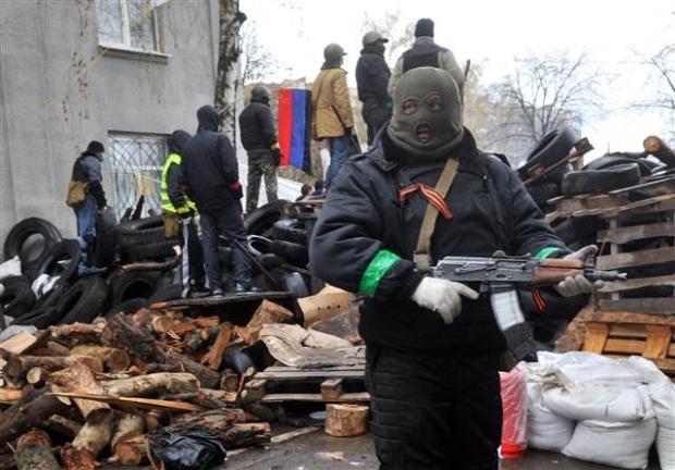 Ukrayna'da terörle mücadele operasyonu başladı 4
