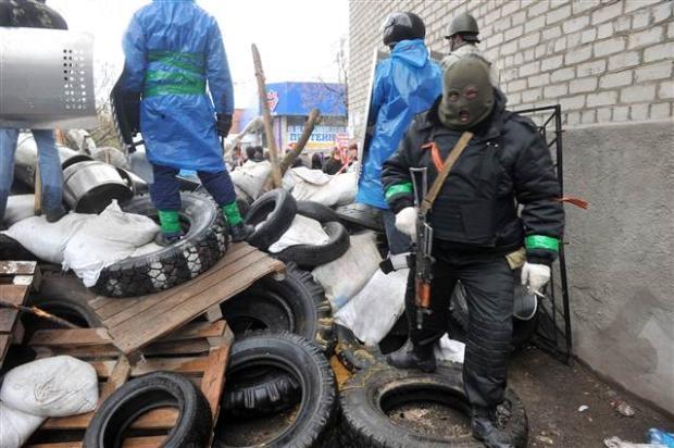 Ukrayna'da terörle mücadele operasyonu başladı 6