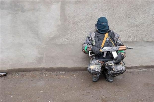 Ukrayna'da terörle mücadele operasyonu başladı 7