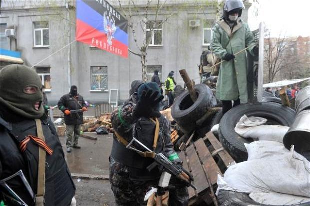 Ukrayna'da terörle mücadele operasyonu başladı 8