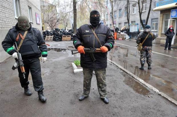 Ukrayna'da terörle mücadele operasyonu başladı 9