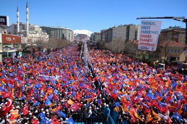 Davutoğlu Türkiye'yi il il gezdi 1