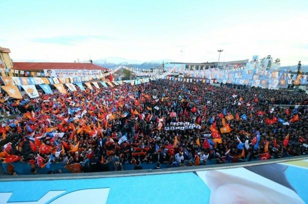 Davutoğlu Türkiye'yi il il gezdi 10