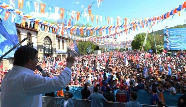 Davutoğlu Türkiye'yi il il gezdi 100