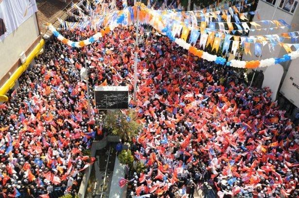 Davutoğlu Türkiye'yi il il gezdi 12
