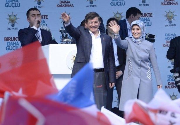 Davutoğlu Türkiye'yi il il gezdi 14