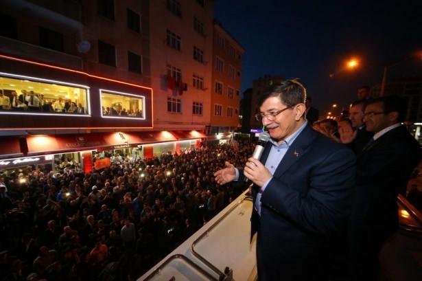 Davutoğlu Türkiye'yi il il gezdi 17