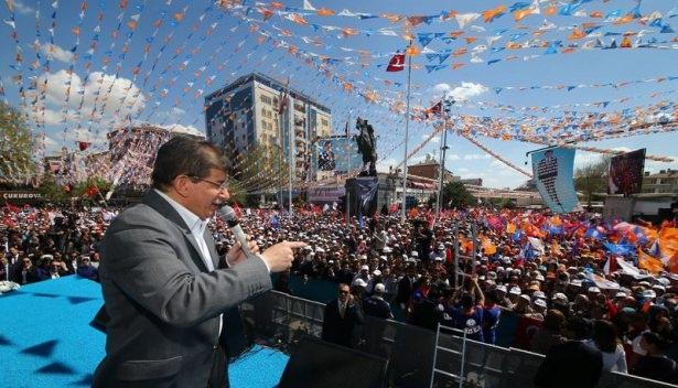 Davutoğlu Türkiye'yi il il gezdi 19