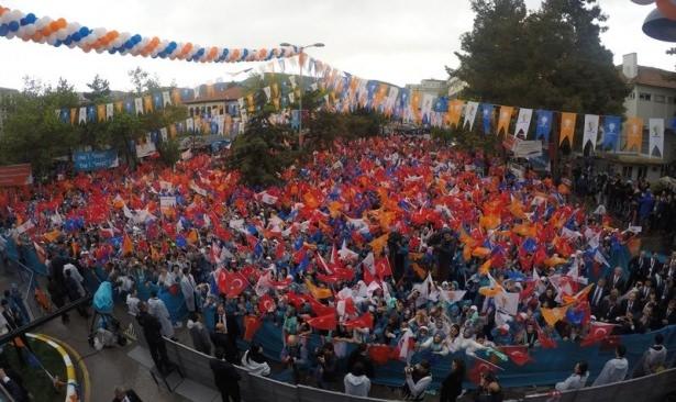 Davutoğlu Türkiye'yi il il gezdi 21