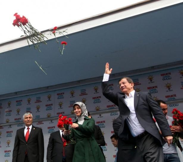 Davutoğlu Türkiye'yi il il gezdi 22