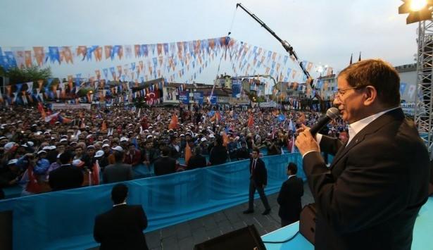 Davutoğlu Türkiye'yi il il gezdi 24