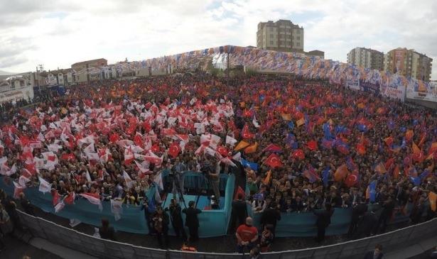Davutoğlu Türkiye'yi il il gezdi 25