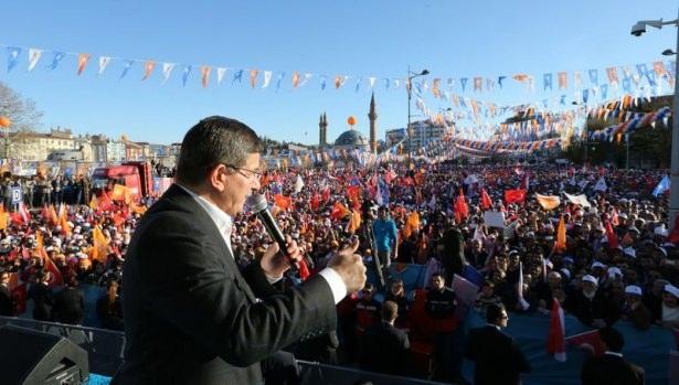Davutoğlu Türkiye'yi il il gezdi 3