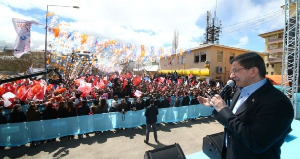 Davutoğlu Türkiye'yi il il gezdi 32