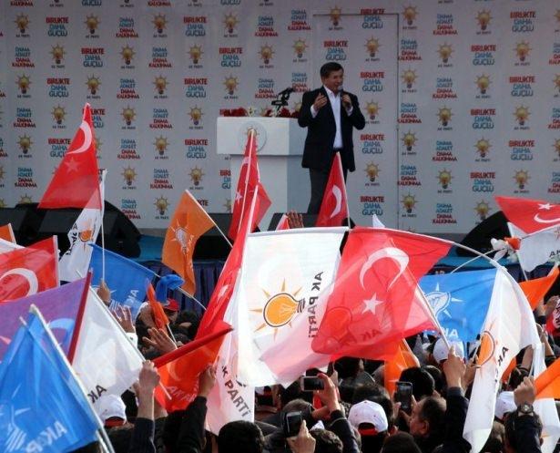 Davutoğlu Türkiye'yi il il gezdi 36