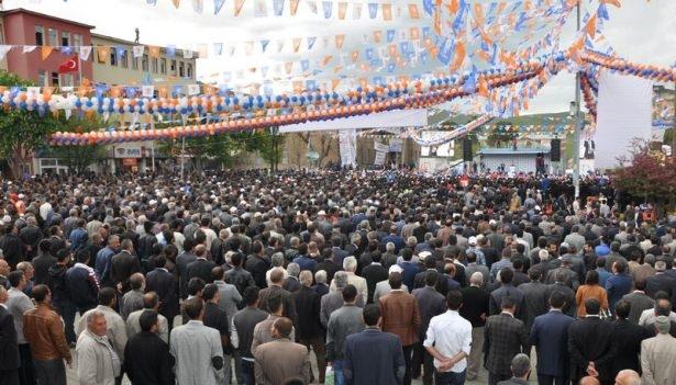 Davutoğlu Türkiye'yi il il gezdi 37