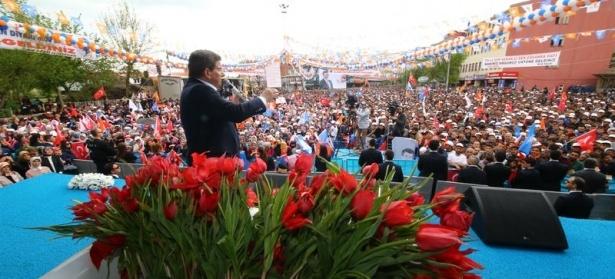 Davutoğlu Türkiye'yi il il gezdi 39