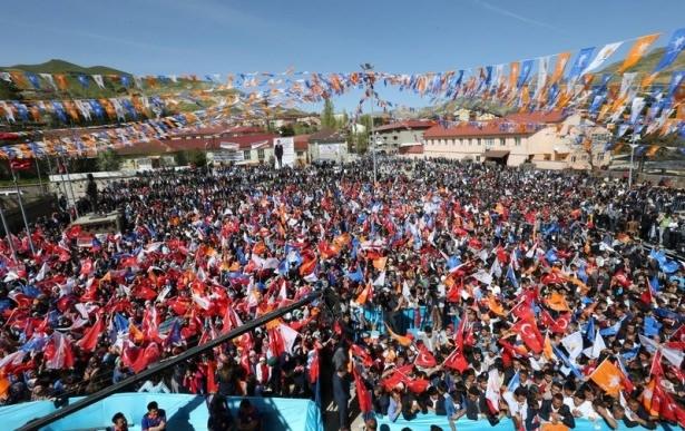 Davutoğlu Türkiye'yi il il gezdi 43