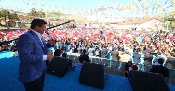 Davutoğlu Türkiye'yi il il gezdi 44