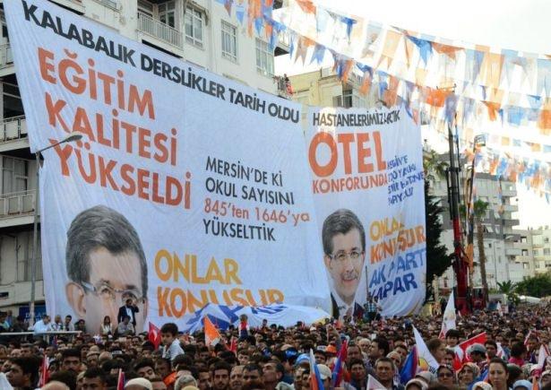 Davutoğlu Türkiye'yi il il gezdi 46