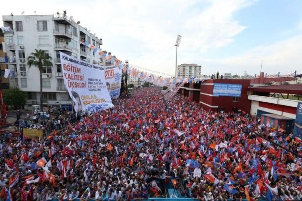 Davutoğlu Türkiye'yi il il gezdi 47