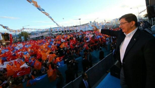 Davutoğlu Türkiye'yi il il gezdi 5